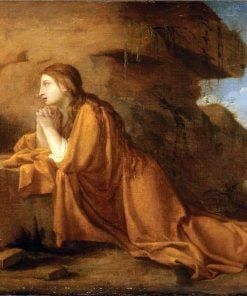 Saint Mary Magdalen in Prayer | Eustache Le Sueur | Oil Painting