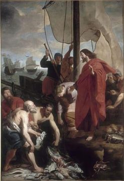 The Miraculous Draught of Fishes   Gaspard de Crayer   Oil Painting