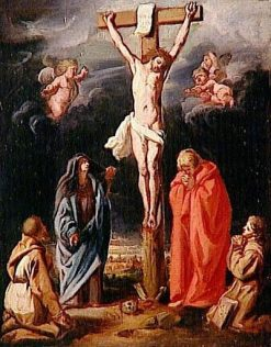 Calvary (sketch) | Gaspard de Crayer | Oil Painting