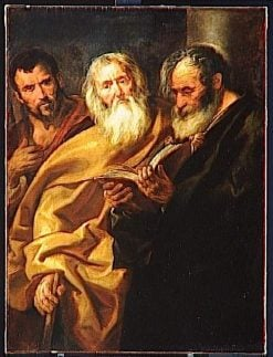 Saint Matthew and Two Apostles | Jacob Jordaens | Oil Painting