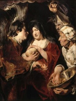 The Temptation of Saint Madeleine | Jacob Jordaens | Oil Painting