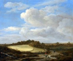 The Field of Wheat | Jacob van Ruisdael | Oil Painting