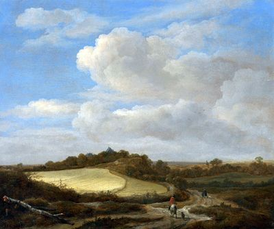 The Field of Wheat | Jacob van Ruisdael | Oil Painting