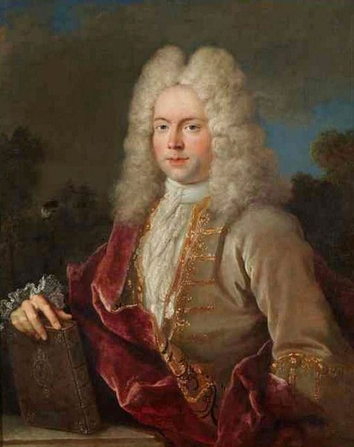 Portrait of the Controller of War | Jean Baptiste Oudry | Oil Painting