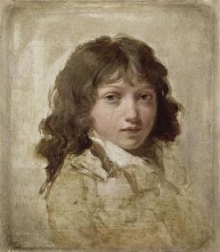 Portrait of the Artist's Son | Louis LEopold Boilly | Oil Painting