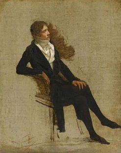 Portrait of Antoine-Denis Chaudet | Louis LEopold Boilly | Oil Painting