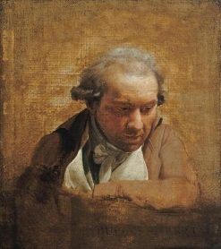 Study for a Portrait of Duplessis-Bertaux | Louis LEopold Boilly | Oil Painting