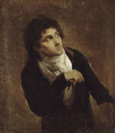 Francois-Joseph Talma (1763-1826)   Louis LEopold Boilly   Oil Painting