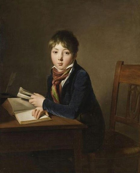 Portrait of Julien Boilly as a Boy | Louis LEopold Boilly | Oil Painting