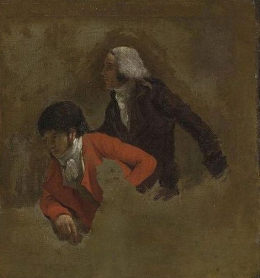 Jean-Baptiste Isabey (1767-1855) and Nicolas-Antoine Taunay (1755-1830) | Louis LEopold Boilly | Oil Painting