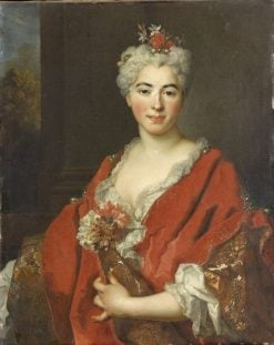 Portrait of Marguerite Elizabeth de Largilliere | Nicolas de Largilliere | Oil Painting