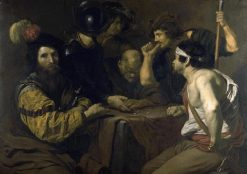 Soldiers Playing Dice | Nicolas REgnier | Oil Painting