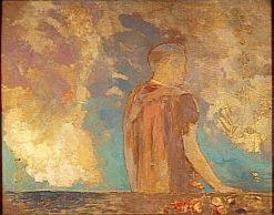 Le Regard (The Gaze) | Odilon Redon | Oil Painting