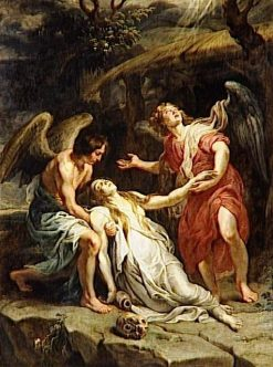 The Ecstasy of Mary Magdalen   Peter Paul Rubens   Oil Painting