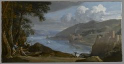 Landscape(also known as Paysage) | Philippe de Champaigne | Oil Painting