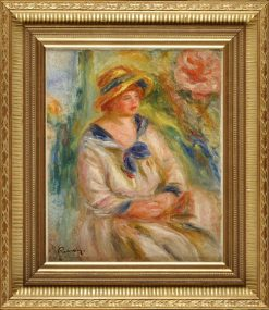 tude pour un portrait (Study for a Female Portrait) | Pierre Auguste Renoir | Oil Painting