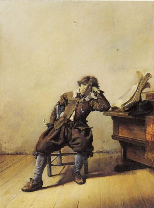 Man near a Table | Pieter Codde | Oil Painting