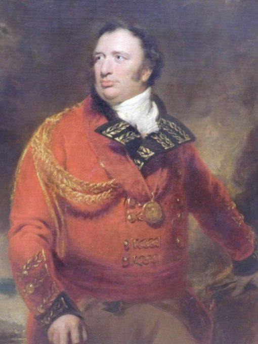Portrait of General Sir John Cuppage | Thomas Lawrence | Oil Painting