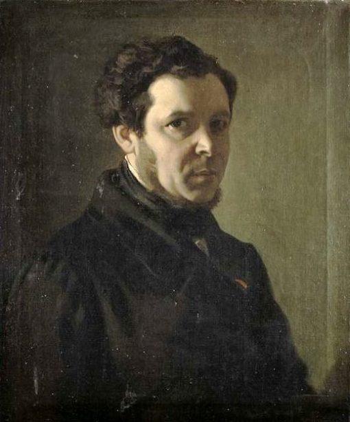 Self Portrait | Victor Louis Mottez | Oil Painting