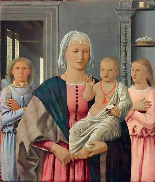 Madonna of Senigallia   Piero della Francesca   Oil Painting