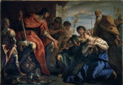 Magnanimity of Scipio | Sebastiano Ricci | Oil Painting