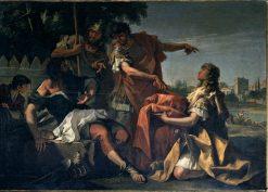 Lucius Quinctius Cincinnatus Called from the Plow to the Dictatorship | Sebastiano Ricci | Oil Painting