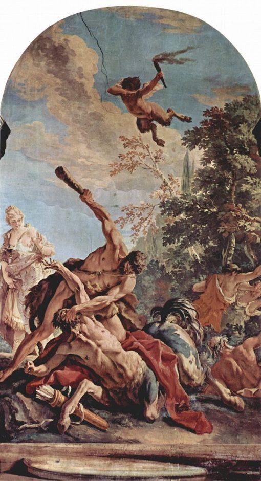 Hercules Slaying the Centaur | Sebastiano Ricci | Oil Painting
