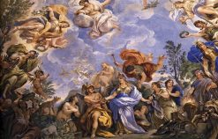Decorative Ceiling (detail) in the Palazzo Medici Riccardi | Luca Giordano | Oil Painting