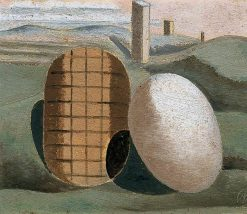 Landscape Composition (Objects in Relation) | Paul Nash | Oil Painting