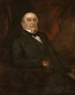 William Ewart Gladstone | Franz von Lenbach | Oil Painting