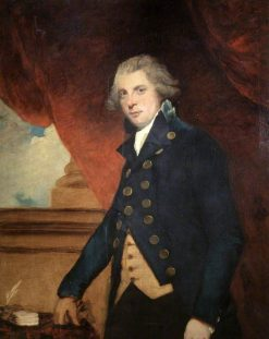 Richard Brinsley Sheridan (1751-1816) | Sir Joshua Reynolds | Oil Painting