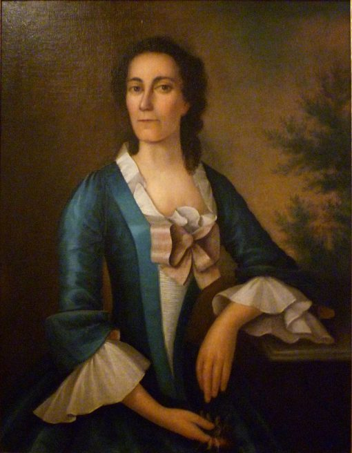 Portrait of Mrs. Thomas Shippard of Boston | Joseph Badger | Oil Painting