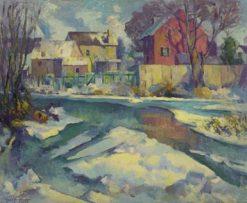 Village Stream | Hugh Henry Breckenridge | Oil Painting