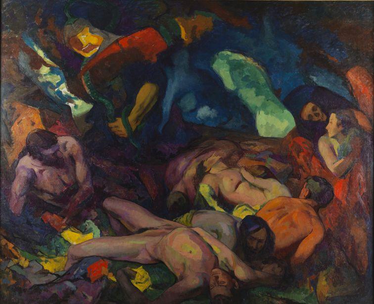 The Pestilence (formerly 'War') | Hugh Henry Breckenridge | Oil Painting