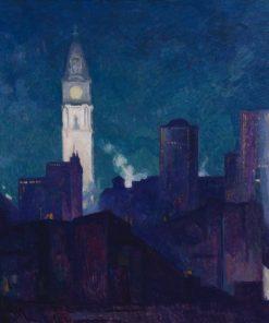 Philadelphia | Hugh Henry Breckenridge | Oil Painting