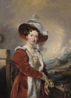 Anna Gibbon Johnson   John Neagle   Oil Painting