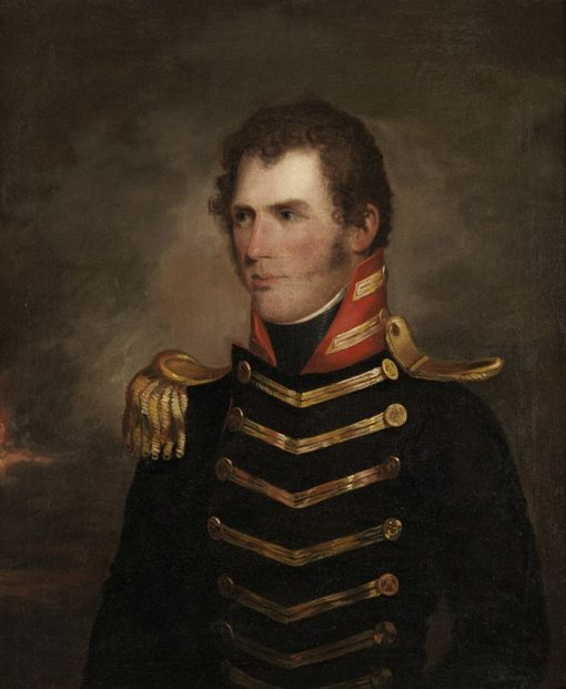 Captain Selah Strong (possibly)   John Neagle   Oil Painting