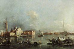 View of Venice   Francesco Guardi   Oil Painting