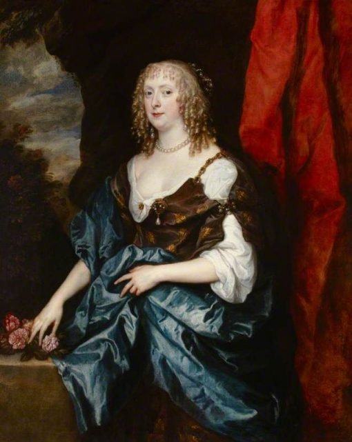 Catherine Bruce (d.1649) Mrs William Murray | Anthony van Dyck | Oil Painting