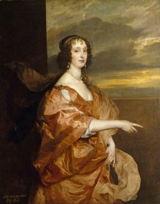 The Honourable Anne Boteler (c.1610-1669) | Anthony van Dyck | Oil Painting