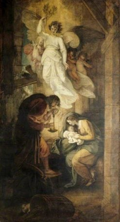 The Nativity | Benjamin West | Oil Painting