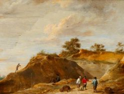 The Sand Quarry | David Teniers II | Oil Painting