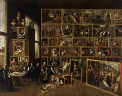 Picture Gallery of the Archduke Leopold Wilhelm of Austria | David Teniers II | Oil Painting