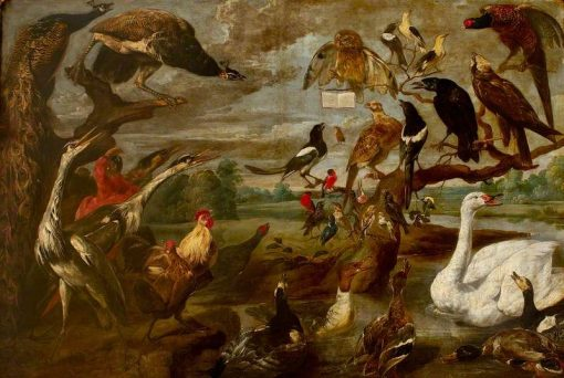 A Concert of Birds (I) | Frans Snyders | Oil Painting