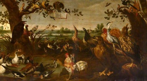 A Concert of Birds (II) | Frans Snyders | Oil Painting