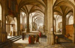 An Imaginary Church or Cathedral Interior | Hendrick van Steenwijck the Younger | Oil Painting