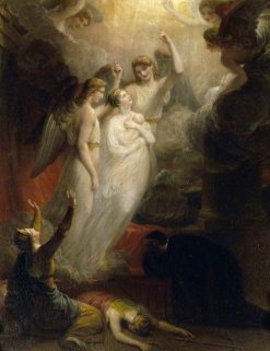 The Apotheosis of Princess Charlotte Augusta (1796-1817)