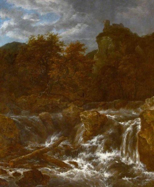 A Waterfall | Jacob van Ruisdael | Oil Painting