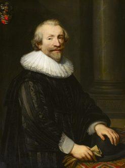 David de Ruyter (c.1580-1663) | Jan van Ravesteyn | Oil Painting