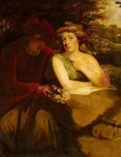 Vertumnus and Pomona | John Hoppner | Oil Painting